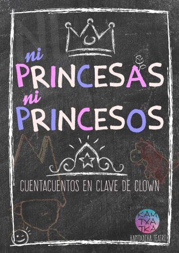 ni princesas ni princesos 2018 sin fecha